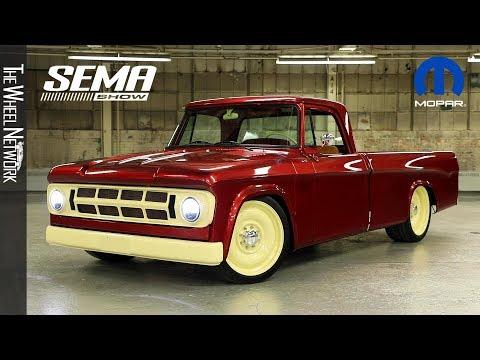 Mopar Lowliner   2019 SEMA Concept based on 1968 Dodge D200-series heavy-duty pickup truck