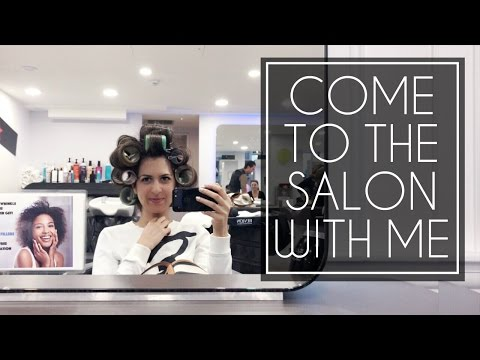 VLOG: Get My Hair & Nails Done With Me + Realistic Beauty Routine