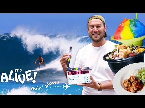 Brad Goes on a Hawaiian Food Tour | It's Alive: Goin' Places | Bon Apptit