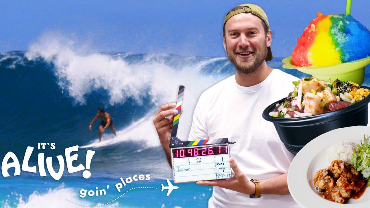Brad Goes on a Hawaiian Food Tour | It's Alive: Goin' Places | Bon Appétit