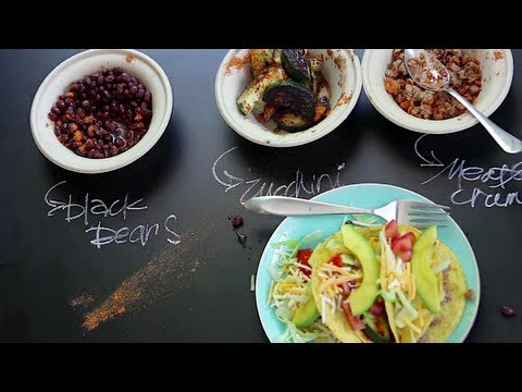 Vegetarian Tacos - 3 Ways | Old El Paso Family Fun Night | Brooke McLay