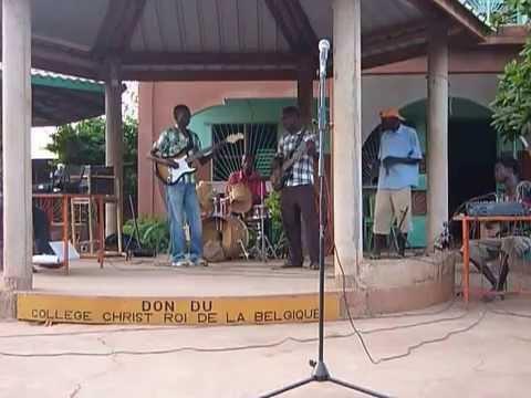 Orchestre de la Cité des Arts de Koudougou - répétition du 26 oct.2012