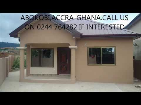 2 bedroom house for sale at Abokobi, Accra-Ghana.Call us on 0244764282 if interested