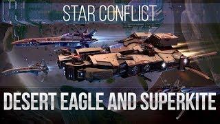 Star Conflict: Desert Eagle & Superkite