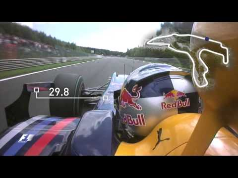 On board - Vettel's Spa lap record | 2009 Belgian Grand Prix