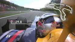 On board - Vettel's Spa lap record | 2009 Belgian Grand Prix