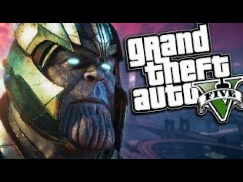 GTA V Thanos script mod - Download Pro Singh (Avengers Infinity War Mod in  GTA 5)