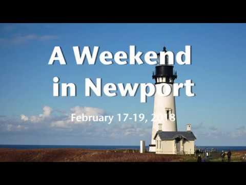A Weekend in Newport, Oregon