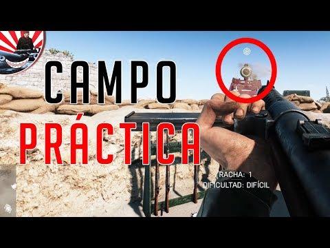 EL CAMPO DE PRÁCTICA DE BATTLEFIELD V