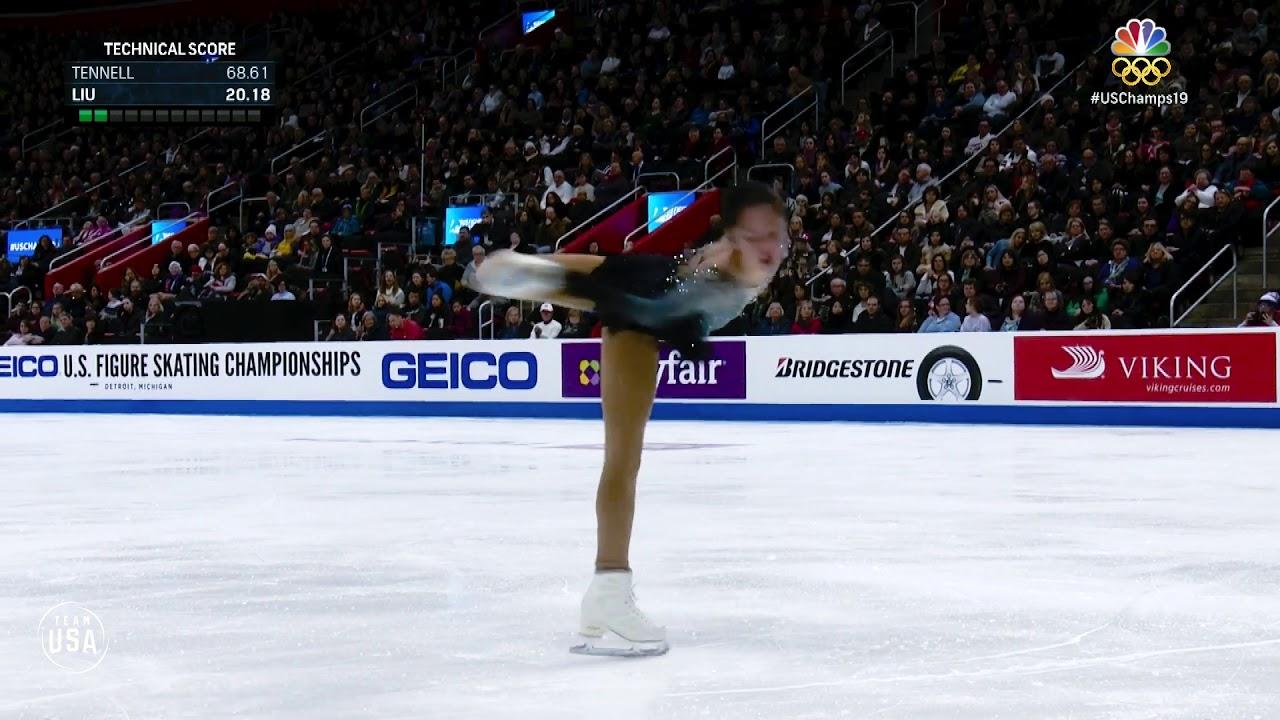 24f6173b8a6 Watch 13-year-old Alysa Liu's phenomenal national championship routine