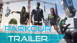 WATCH DOGS - Parkour / Free running Compilation