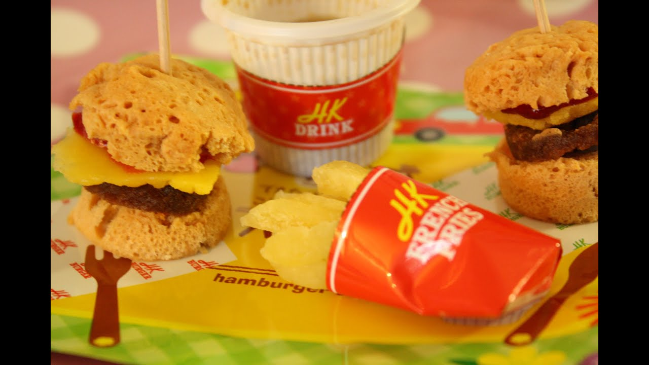 Happy Kitchen Hamburger, French Fries & Cola