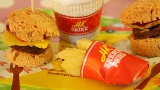 Kracie - Happy Kitchen Hamburger, French Fries & Cola - FAIL? Thumbnail
