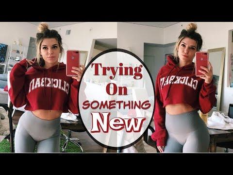 Trying On Something New   2017 Vlog