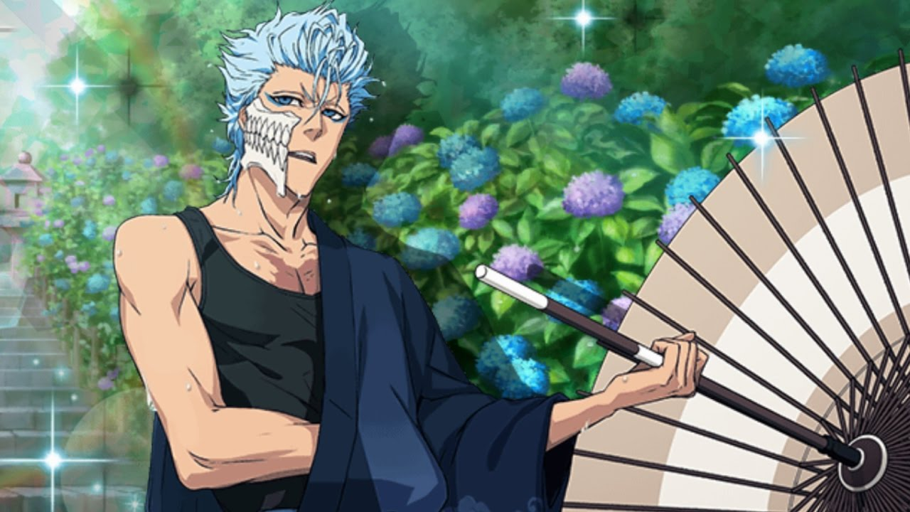 parasol 6 star grimmjow character review - youtube