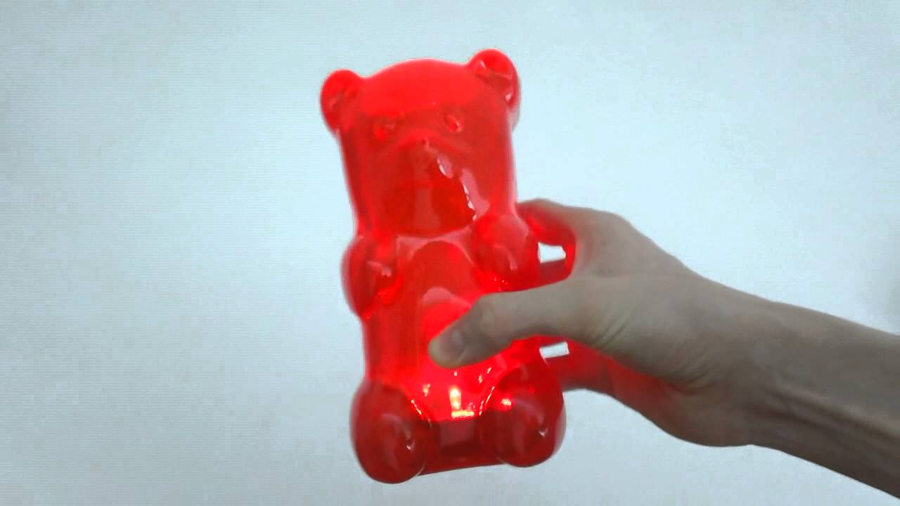 Gummy Bear Lamp Review & Unboxing - YouTube