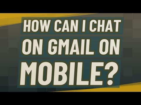How Can I Chat On Gmail On Mobile?