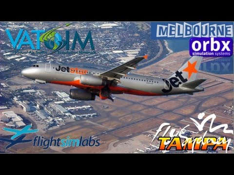 Prepar3d Milk Run - FSlabs A320 Sydney to Melbourne