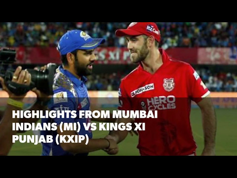 IPL 2017: Highlights Of Mumbai Indians (MI) vs Kings XI Punjab (KXIP)