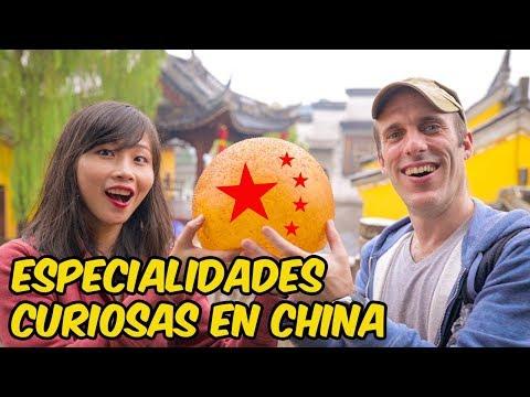 COMIDA CALLEJERA EN CHINA: exhibiciones curiosas y degustación