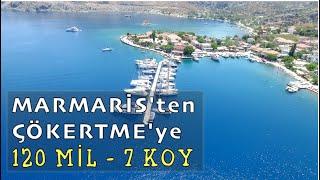 Marmaris'ten Çökertme'ye 7 KOY / Sailing Kalamari - Bl.42