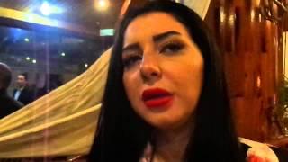 قناة السويس الجديدة : الفنانة أيناس النجار قناة السويس الجديدة فخر للعرب والسيسي قائد عظيم