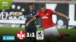 3. Liga: Kaiserslautern holt nur einen Punkt gegen 1860 München | SWR Sport