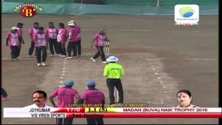 joy kumar vs viren sportsh madan (buwa) naik chashak 2016
