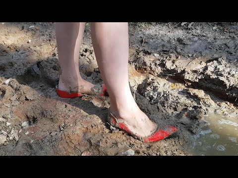 muddy louboutins louboutin destruction ruined high heels