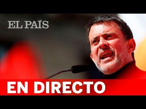 Directo: Manuel VALLS anuncia su candidatura a la alcaldía de BARCELONA