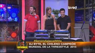 Mira al chileno Dj Byte, campeón mundial de la THRE3STYLE 2015
