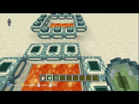 How To Build The End Portal In Minecraft Xbox 360