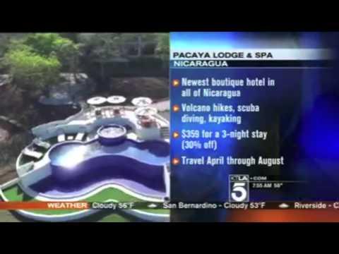 KTLA News Pacaya Lodge & Spa, Nicaragua