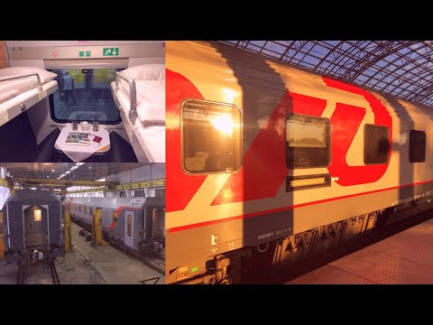 Germany To Kazakhstan By Rail - Part 2: Warsaw - Minsk On Russian Train № 024Й Paris - Moscow