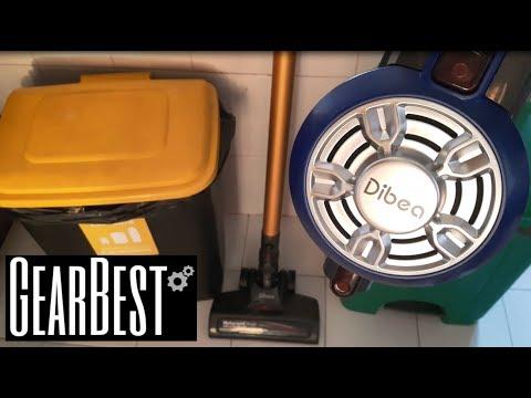 Cordless Upright Vacuum Cleaner Dibea D18 - Gearbest