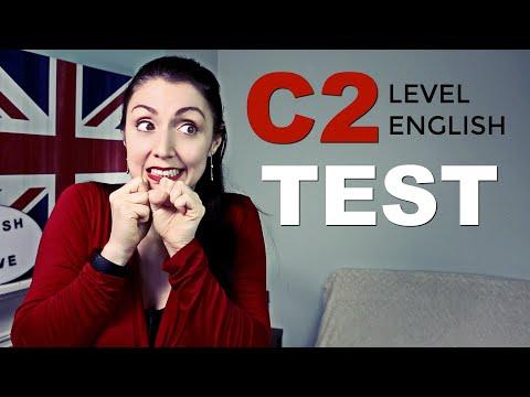 C2 English Level Test