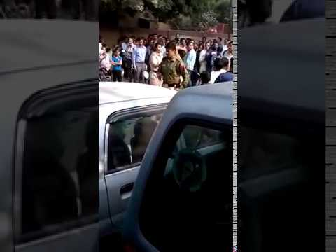 Girl get naked in public in India   Protest against government thumbnail