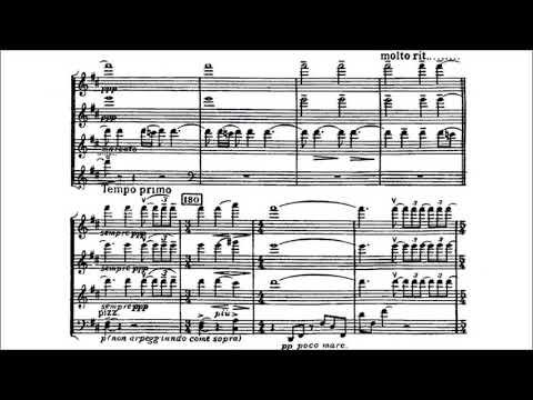 Benjamin Britten - String Quartet No. 1, Op. 25