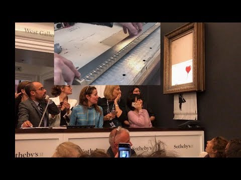 EEVBlog #1131 - £1M Prank - Banksy Artwork Shredded! HOW?