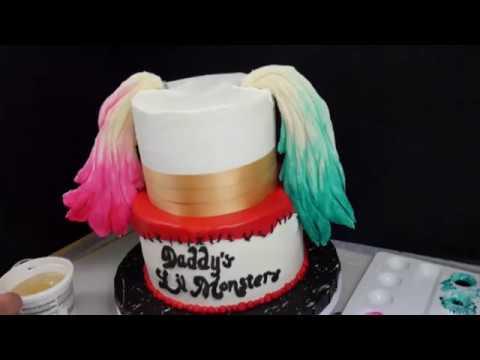 harley quinn birthday cake Suicide Squad Harley Quinn Cake   YouTube harley quinn birthday cake