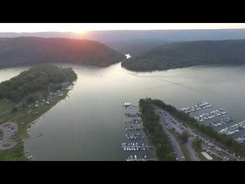Raystown Lake Resort, PA drone video with phantom 3