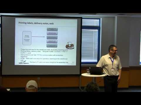 Perl in Automotive Logistics - Luboš Kolouch (kolcon)