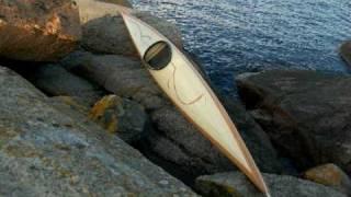 Handmade Wooden Kayak