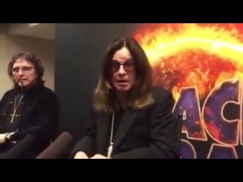 Black Sabbath Press Conference In Omaha