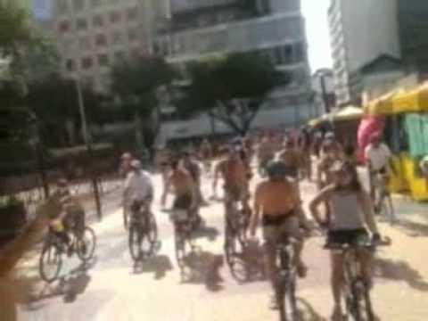 WNBR 2010 - World naked bike ride - Bicicletada Pelada