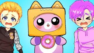 How FOXY Met LANKYBOX! *YOU WILL CRY!* (Sad Animated LankyBox Story!)