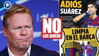 Le grand ménage de Koeman au Barça agite l'Espagne | Revue de presse