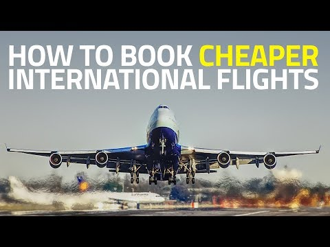 How to Find Cheapest Flight Tickets for International Travel