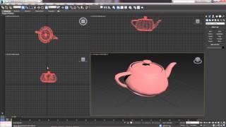 3D Max. Урок №3. Перемещение объекта. Масштабирование. Системы координат.