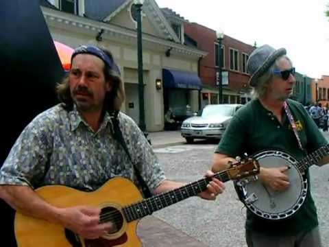 music on the street in ASHEVILLE ,NC